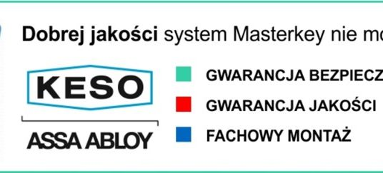 System klucza Master Key i jego cena